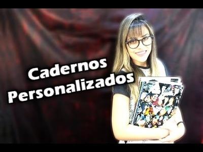 DIY: Cadernos personalizados - Vida de MJFan