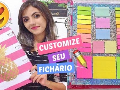 DIY: FICHÁRIO PERSONALIZADO E DIVISÓRIAS COM POST-IT
