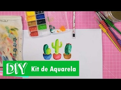 DIY - kit de aquarela
