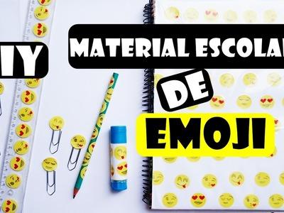 DIY - MATERIAL ESCOLAR DE EMOJI
