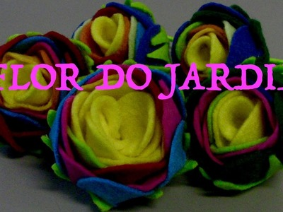 Chuquinha com rosas de feltro- DIY