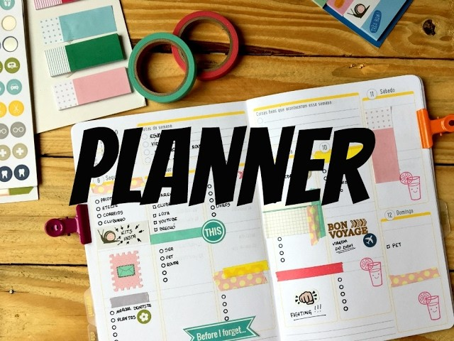 Como decorar a semana no planner 2017 #3