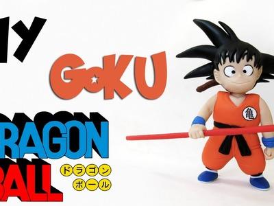 DIY: COMO FAZER GOKU - DRAGON BALL  | Ideias Personalizadas - DIY
