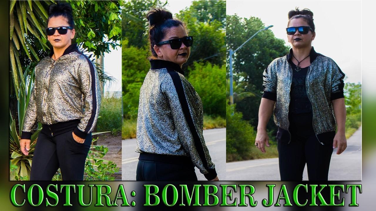 DIY: COSTURANDO UMA BOMBER JACKET COM MANGA RAGLAN