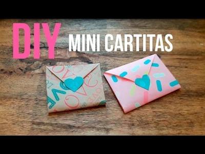 DIY ♥ Mini carta super fácil♥ SAN VALENTIN