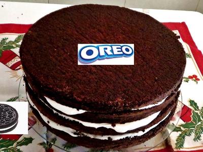 Diy Saiba como fazer receita de bolo oreo - diy oreo cake recipe