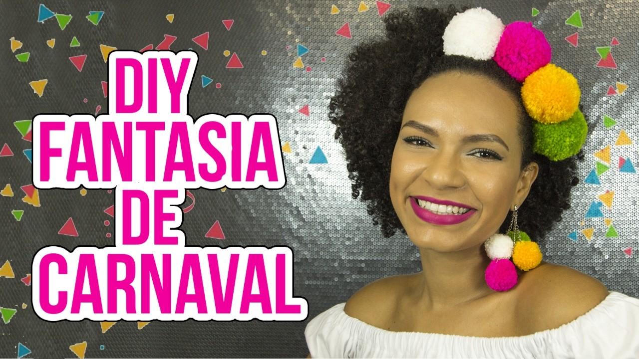 FANTASIA DE CARNAVAL DIY | NEA SANTTANA
