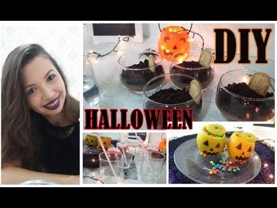 Receitinhas criativas de Halloween DIY #gracenacozinha | Depois do Sim blog