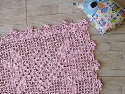 Toalhinha.Tapete.Caminho de Mesa de Crochet - 2.2 - #3 Camilaarts