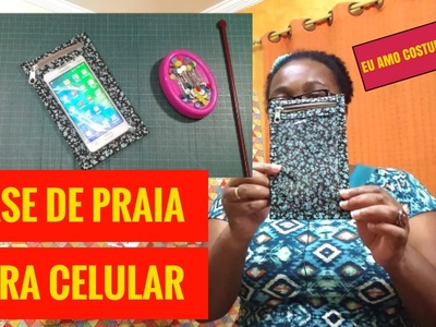 DIY Como Fazer Case de Praia para Celular