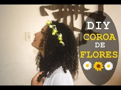 DIY Coroa de Flores - Parte 1 | Jadna Santos