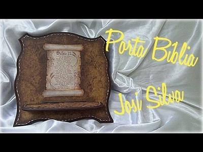 DIY - Falso couro no Porta Bíblia #Innovacarimbos Josi Silva.  imitación de cuero