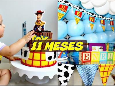 DIY - Organizando festa em casa | 11º mesversário do Enrico