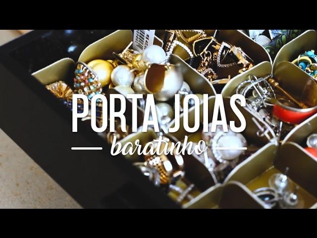 DIY - Porta Joias de forminha de doce | Divirta-se Organizando