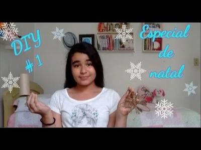 ESPECIAL DE NATAL#1: DIY FLOR NATALINA