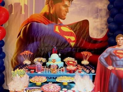 Decoração Festa Super Homem