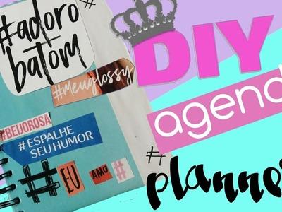 Diy: agenda capa+folhas #Voltas aulas