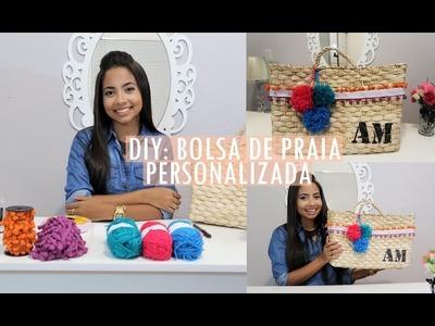 DIY BOLSA DE PRAIA PERSONALIZADA