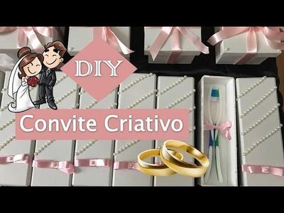 DIY: Caixinha para convidar padrinhos e damas de Casamento.