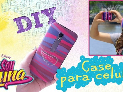 DIY - Case de Celular Sou Luna