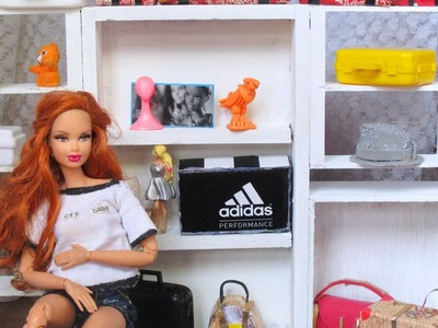 DIY CLOSET PARA BARBIE- HOW TO MAKE CLOSET