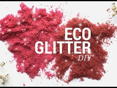 ECO GLITTER (DIY)! - glitter ecológico