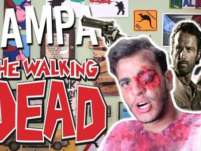 TAMPA DE VASO DE THE WALKING DEAD - Victor Lamoglia D.I.Y.