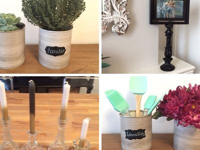 3 diy's para decorar sua casa- decoração barata