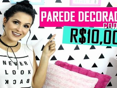 DECORE SUA PAREDE COM R$10,00 - DECORAÇÃO TUMBLR