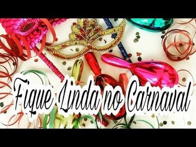 DIY - Acessórios de Carnaval