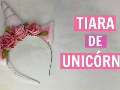 DIY Carnaval | Tiara de Unicórnio