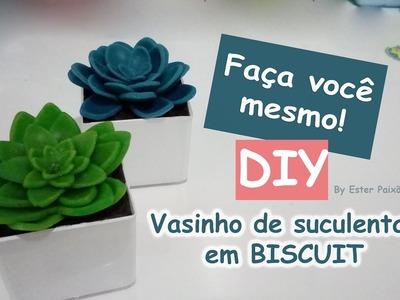 DIY - Suculentas de Biscuit #1