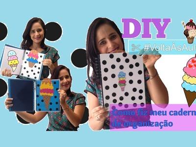 DIY - Transforme seu caderno em Planner ✄ #VoltaÀsAulas