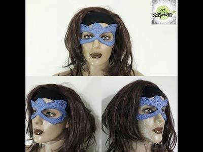 Mascara de Crochê