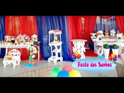 Decoração tema Patati Patatá - Festa dos Sonhos