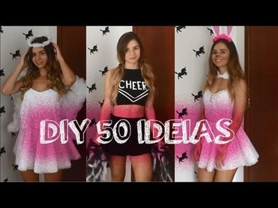 DIY 50 IDEIAS PARA O CARNAVAL (Fantasias)