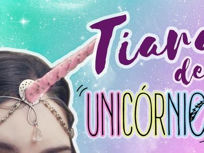 DIY de CARNAVAL.HALLOWEEN: Tiara Chifre de UNICÓRNIO (Unicorn Headpiece) | Dan Pugno