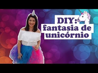 DIY: Fantasia de Unicórnio - SEM COSTURA