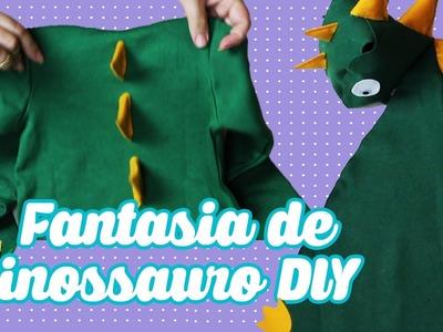 Diy Fantasia Infantil de Dinossauro - Capa e Body