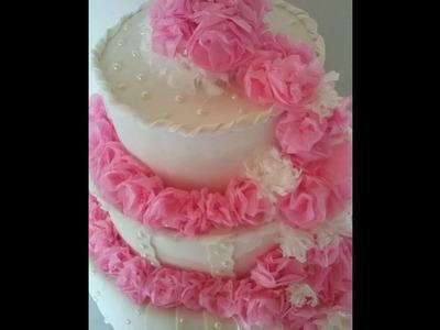 DIY - Flores de papel de seda - By Atelier Janart's