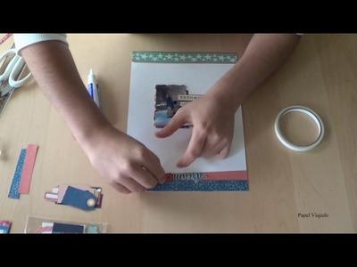 "Scrapbooking: Layout ""Dream"" - tutorial"
