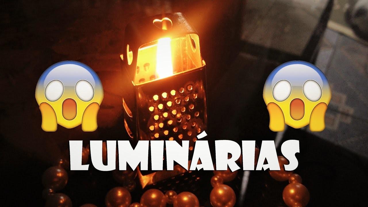 3 DIY FÁCEIS DE LUMINÁRIAS - #VEDD02