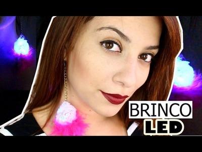 DIY: Brinco de LED para o carnaval