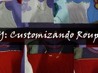 DIY: Customizando Roupas