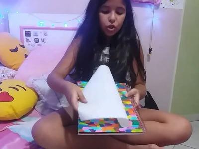 DIY de caderno mágico sem gastar nada ????????