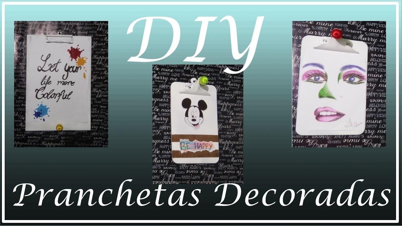DIY de Decoração | Pranchetas Decoradas | WillTube
