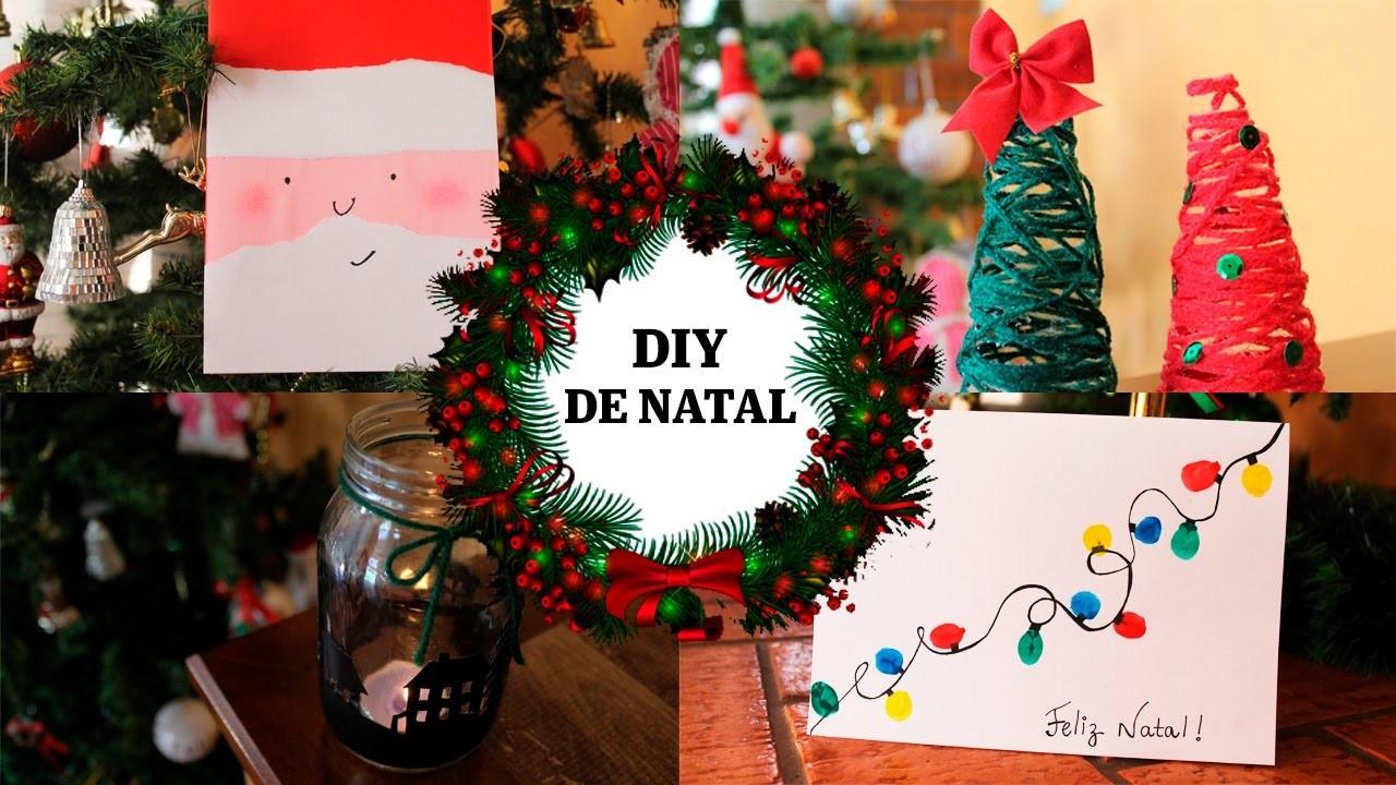 DIY DE NATAL - ÚLTIMOS PREPARATIVOS   2016