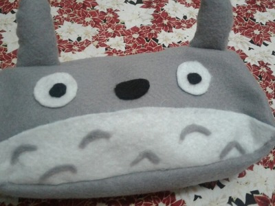 DIY Estojo Totoro | Volta As Aulas