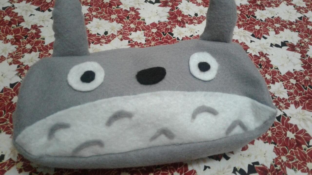 DIY Estojo Totoro   Volta As Aulas
