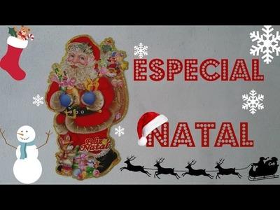 DIY Estrela de Palitos de Picolé ???????? #3 - Especial Natal